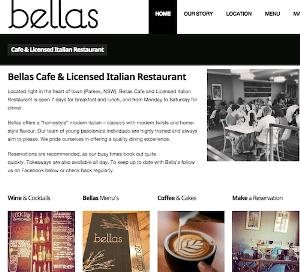 Bellas Website