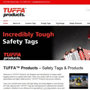 Tuffa Products Website Design