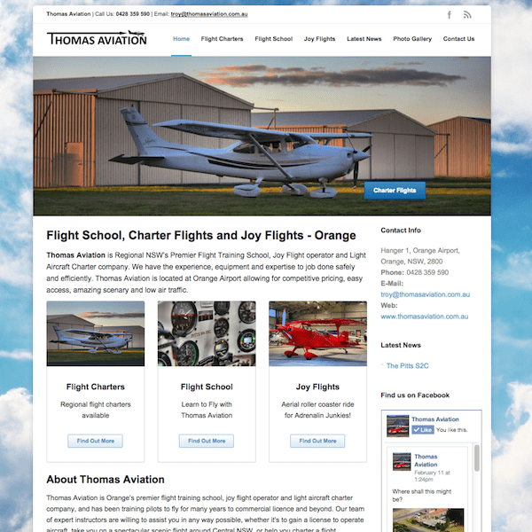 Client Thomas Aviation