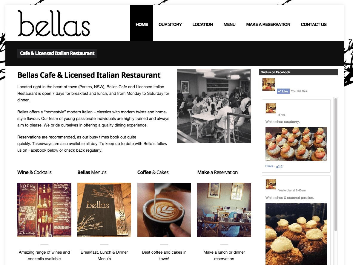 Client - Bellas Cafe