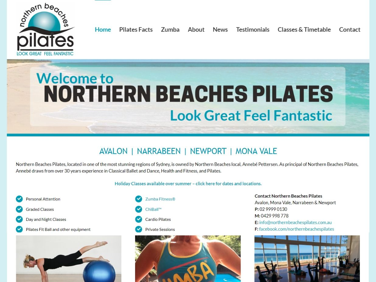 Client Northern Beaches Pilates