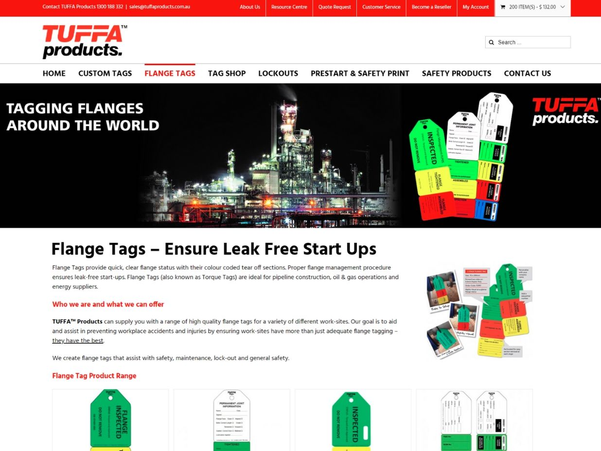 Tuffa Products Client